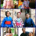 Tanabata Weekとともに開催されるYukata Week この期間は子どもも教師もスタッフも(時には保護者様も!)浴衣を着てレッスンに来てね!という週間になっています。英語=海外文化だけではなく、日本の文化もきちんと知ってほしいなぁという想いで始めたイベントですが、なかなか好評です! 花火大会があるわけでもないのに、浴衣の子どもたちがぞろぞろ・・・ご近所の自由が丘の方たちは不思議に思っているかもしれません(笑)子どもたちのカワイイ姿と英語短冊が見られるこの期間、イングリッシュスタジオはとても華やかです?
