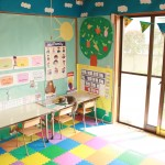 カラフルなプリスクールルーム